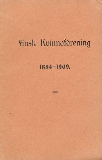 Finsk Kvinnoförening - Doria