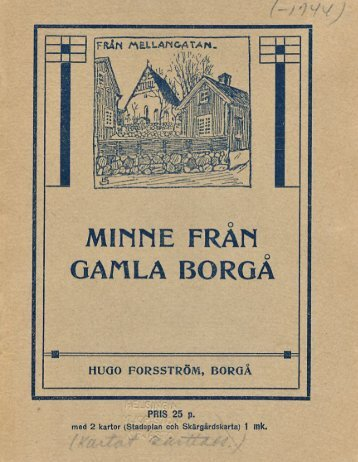 MINNE FRÅN - Doria