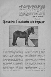 Djurhandelnåmarknader ochtorgdagar. - Doria