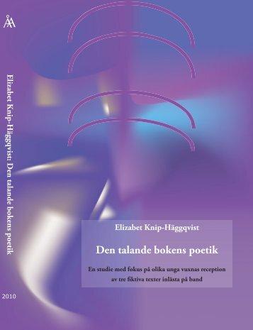 Den talande bokens poetik - Doria