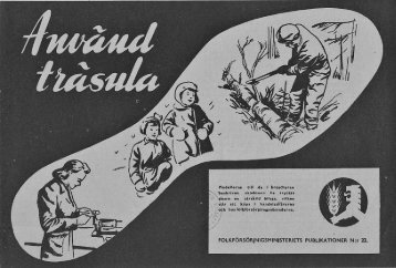 FOLKFÖRSÖRJNIGSMINISTERIETS PUBLIKATIONER N:r 22. - Doria