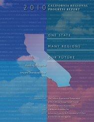 2010 California Regional Progress Report - Caltrans - State of ...