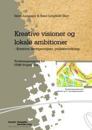 ITMF projekt nr - Institut for Uddannelse og Pædagogik (DPU)