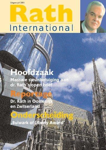 Document NL.qxd - Dr. Rath Gezondheidsalliantie