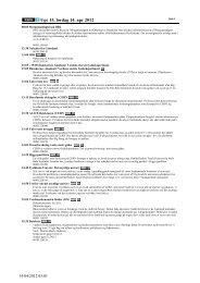 Uge 15, lørdag 14. apr 2012 - DR