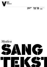 Hent sangtekster til Mystica - DR