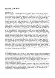 Læs Tonny Vorms oprindelige tekst - Dr