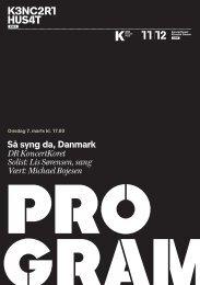 Så syng da, Danmark DR KoncertKoret Solist: Lis Sørensen, sang ...
