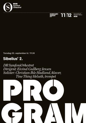 Hent programmet til Sibelius her - DR