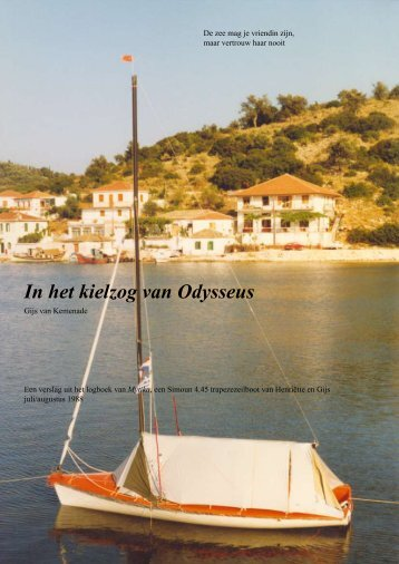 In het kielzog van Odysseus - Nederlandse Kring van Drascombe ...