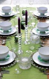 elegant borddækning - Dremel