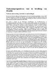 Rapport en samenvatting ... - Provincie Drenthe
