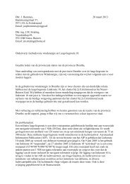 Microsoft Outlook - Stijl voor memo - Provincie Drenthe