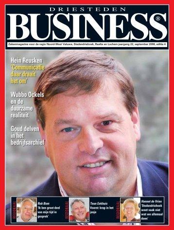 Download deze uitgave - Driesteden BUSINESS