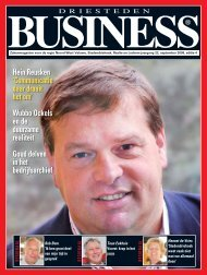 Download deze uitgave - Driesteden BUSINESS