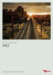 Årsrapport for 2012 - DSB