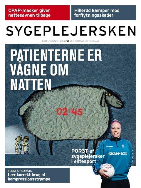 PATIENTERNE ER VåGNE OM NATTEN - Dansk Sygeplejeråd