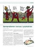 PATIENTERNE ER VåGNE OM NATTEN - Dansk Sygeplejeråd - Page 7