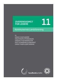 Overenskomst for ledere 11 - Dansk Sygeplejeråd