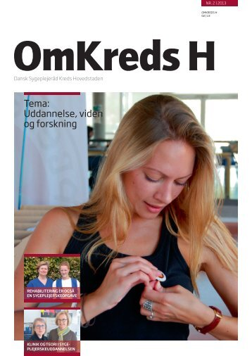 OmKreds H 2-2013 - Dansk Sygeplejeråd