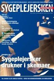 Sygeplejersken 2009 Nr. 2 - Dansk Sygeplejeråd
