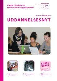 Uddannelsesnyt nr. 4, 2012 - Dansk Sygeplejeråd