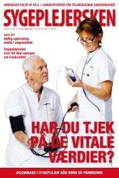 Sygeplejersken 2009 Nr. 19 - Dansk Sygeplejeråd