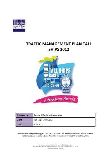 traffic management plan tall ships 2012 - Dublin City Council