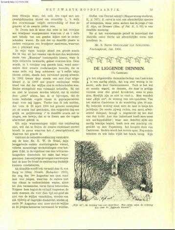 Kramer, M. (1904) De liggende dennen. - Duinen en mensen