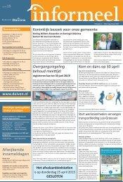 Informeel week 15 (pdf) - Gemeente Duiven