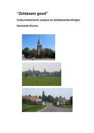 Rapport Zeldzaam Goed - Gemeente Duiven