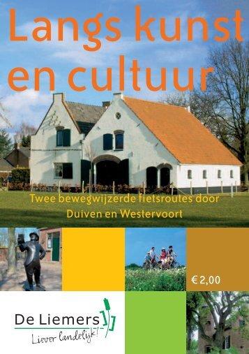 Fietsroutes langs kunst en cultuur - Gemeente Duiven