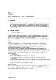 Bijlage 2 notitie Gebouwen Tarieven Subsidies ... - Gemeente Duiven