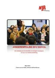 Rapport Jongerenpeiling 2012 (pdf) - Gemeente Duiven