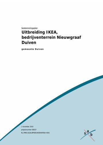 toelichting bestemmingsplan uitbreiding Ikea ... - Gemeente Duiven