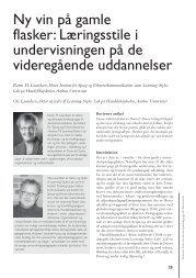 PDF-version - Dansk Universitetspædagogisk Netværk