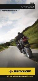 2013 On Road Guide Of uw voorkeur nu uitgaat naar ... - Dunlop