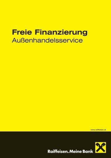 Freie Finanzierung