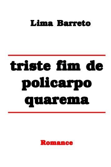Triste Fim de Policarpo Quaresma - eBooksBrasil