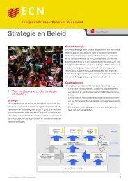 Strategie en beleid - Ecn