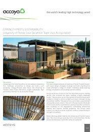 STRENGTH MEETS SUSTAINABILITY: University of ... - Ecobuild