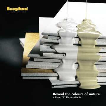 Reveal the colours of nature - Ecophon