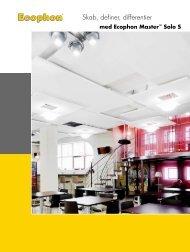Master Solo S med belysning pdf - Ecophon