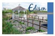 Environmental Resource Inventory - Edison, New Jersey