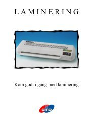 Laminering - Ednord