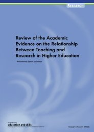 Review of the Academic Evidence on the Relationship Between ...