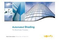 Automated Shading – The Bioclimatic Facades ... - e-EcoSolutions