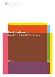 1 Staatsrechnung Bericht zur Bundesrechnung - Eidgenössische ...