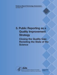 5. Public Reporting as a Quality Improvement Strategy