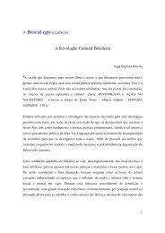 A Revolução Cultural Brasileira - eGov UFSC
